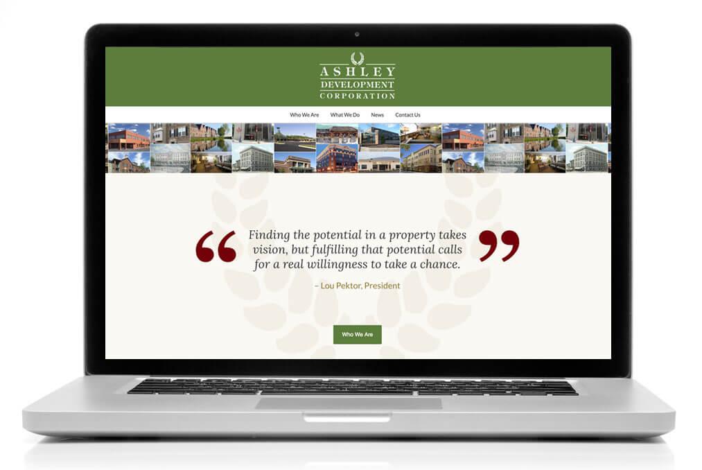 New Ashley Development Website!