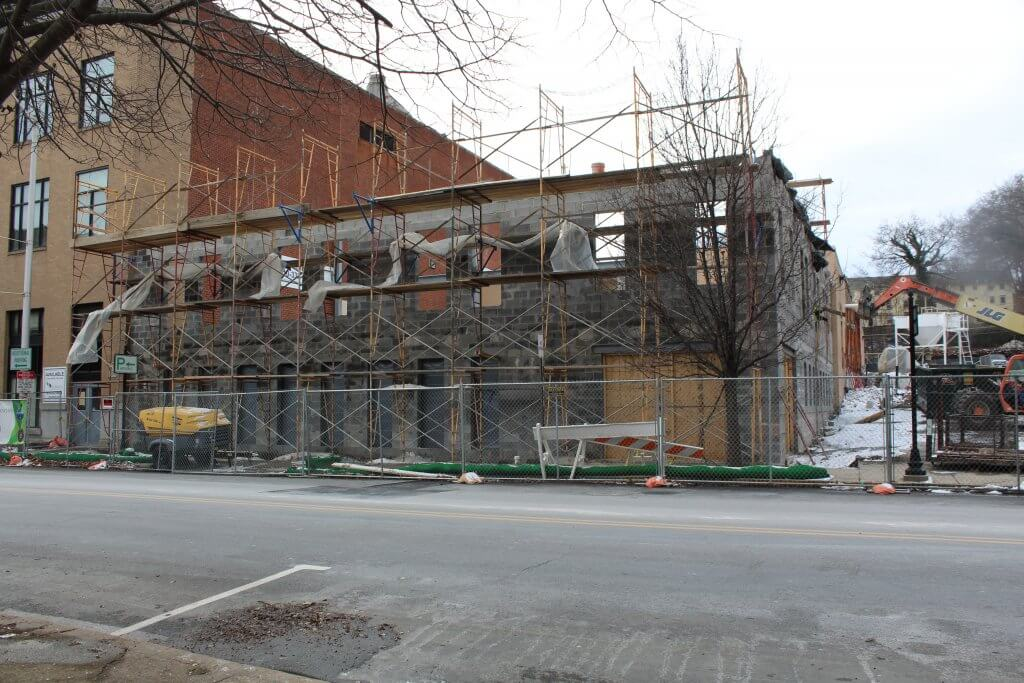 Easton Police Look To Future As New Station Rises Ashley